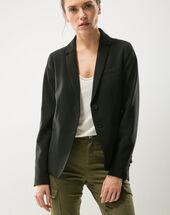 Eve black suit jacket black.