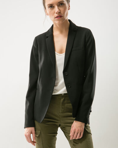 Eve black suit jacket (2) - 1-2-3