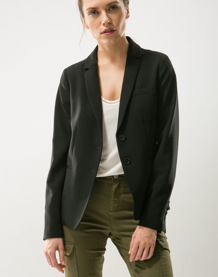 Eve black suit jacket PhotoZ | 1-2-3