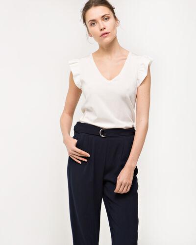 Pantalon carotte bleu Douguy (1) - 1-2-3