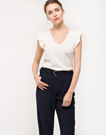 Douguy blue tapered trousers (2) - 1-2-3