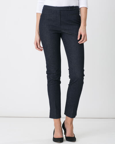 Pantalon city façon denim Racine (2) - 1-2-3