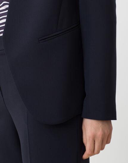 Maite belted navy blue jacket (5) - 1-2-3