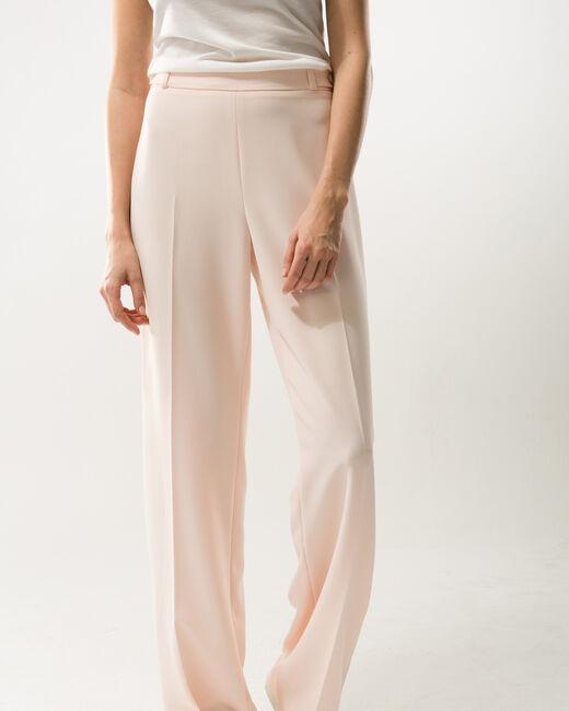 Pantalon de tailleur rose poudre Refrain (2) - 1-2-3