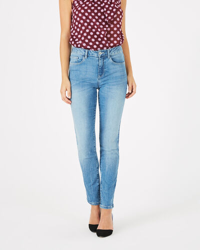 Oliver 7/8 length bleached jeans (2) - 1-2-3