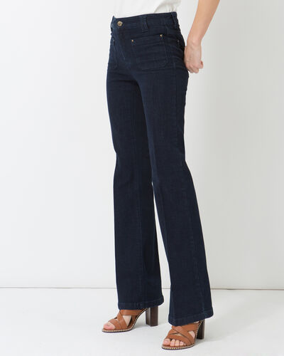 Untreated wide-leg jeans (2) - 1-2-3
