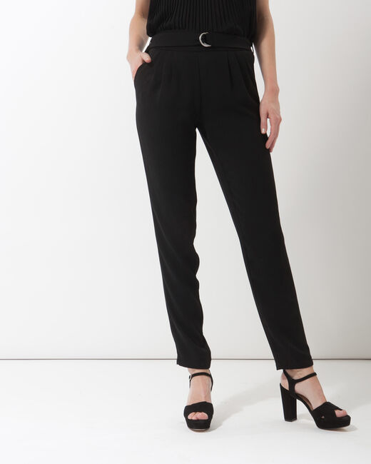 Douguy black tapered cut trousers (2) - 1-2-3