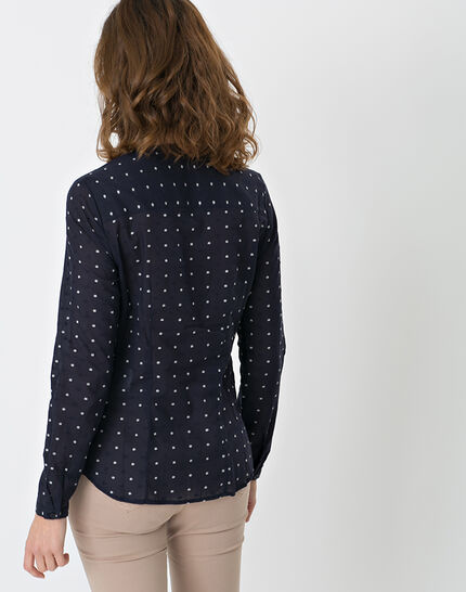 Etoiles navy blue printed shirt (4) - 1-2-3