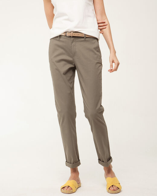 Pantalon 7/8ème kaki Francis (2) - 1-2-3