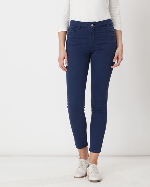 Oliver 7/8 length blue trousers (2) - 1-2-3