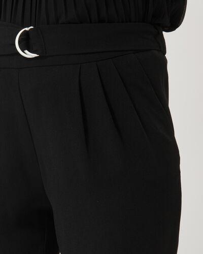 Pantalon noir coupe carotte Douguy (1) - 1-2-3