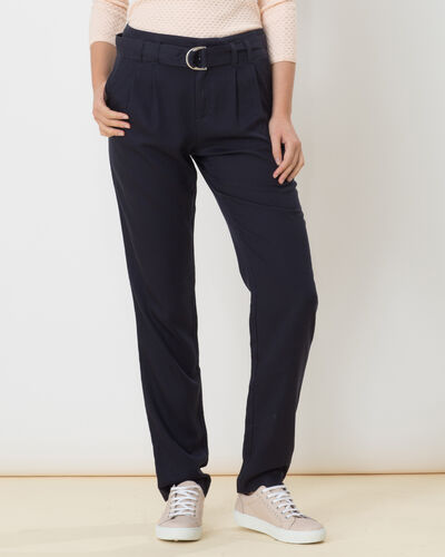 Darcy blue flowing trousers (2) - 1-2-3