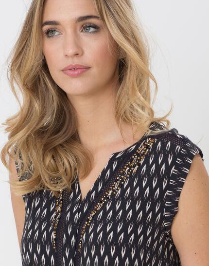 Boubou ethnic print dress (5) - 1-2-3