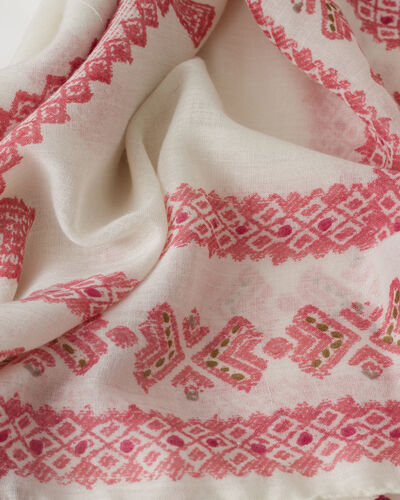 Savine pale pink scarf (2) - 1-2-3