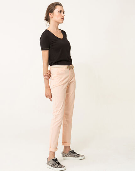 Francis apricot 7/8 length trousers (5) - 1-2-3