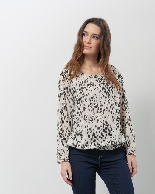 Ezra animal print blouse (1) - 1-2-3