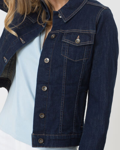 Karl denim jacket (2) - 1-2-3
