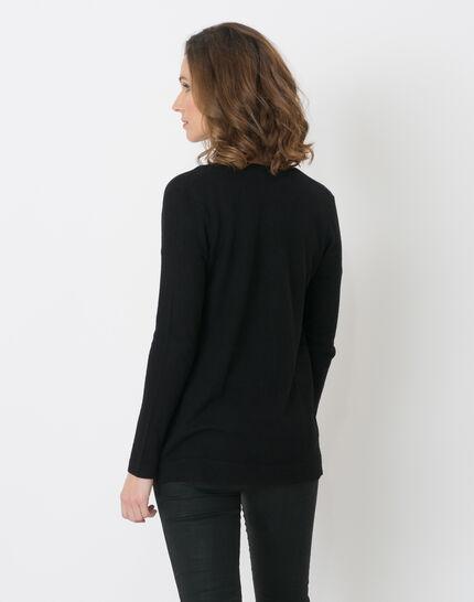 Honore black cardigan (4) - 1-2-3