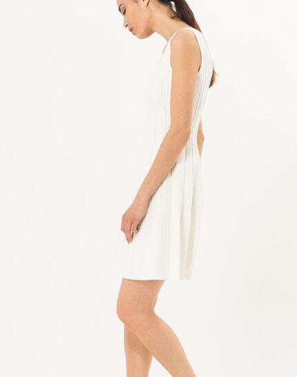 Blake white knitted dress (3) - 1-2-3