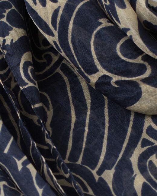 Scarlett silk printed scarf (2) - 1-2-3