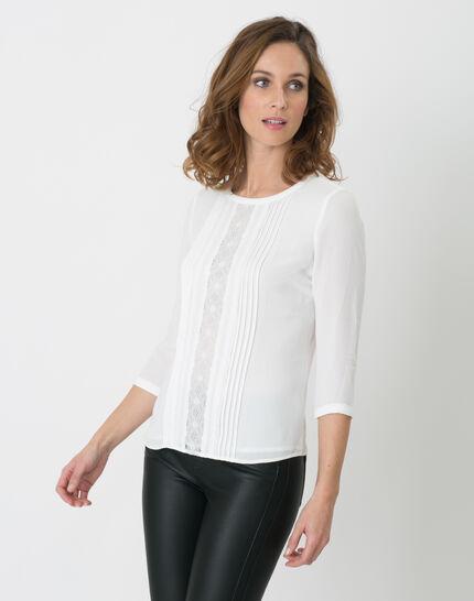 Nuit ecru lace T-shirt (5) - 1-2-3