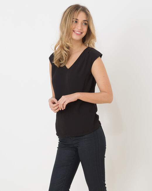 Tee-shirt noir Neptune (2) - 1-2-3