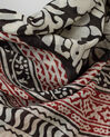 Silly red printed scarf in cotton (1) - 1-2-3