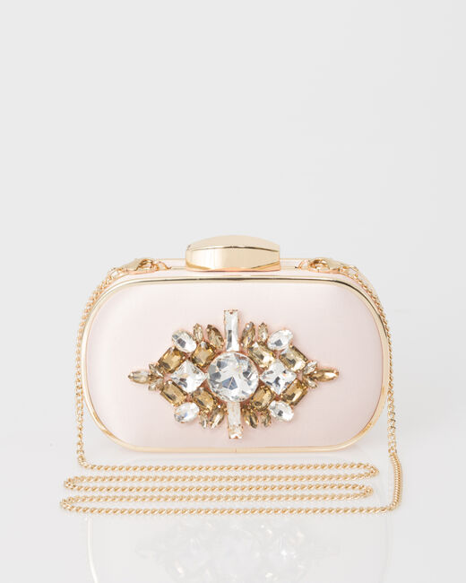 Palmyre powder pink clutch bag (1) - 1-2-3
