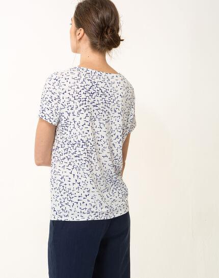Tee-shirt graphique bleu roi Nuance (3) - 1-2-3