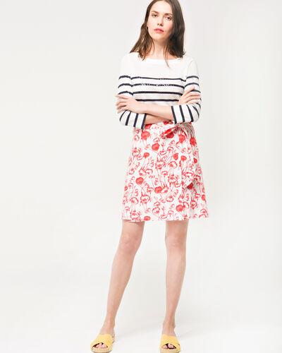Deese floral printed skirt (2) - 1-2-3