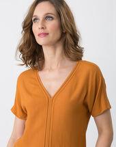 Edwige ochre shirt ochre.