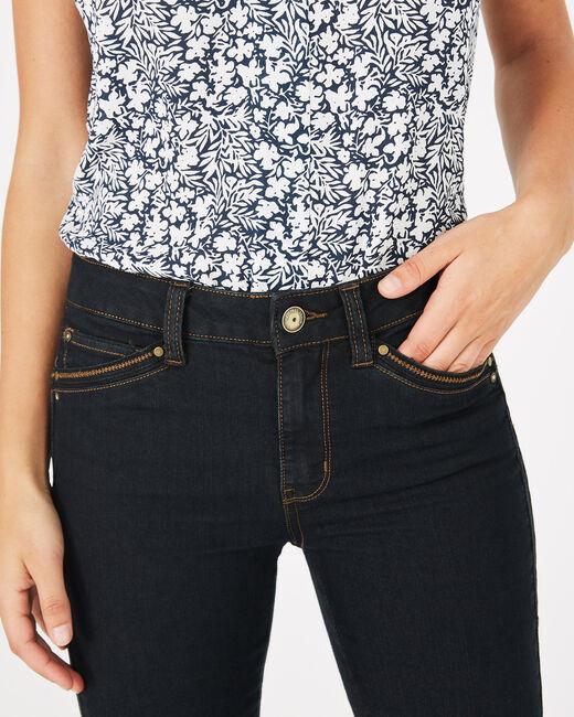 Pia 7/8th length black jeans (2) - 1-2-3