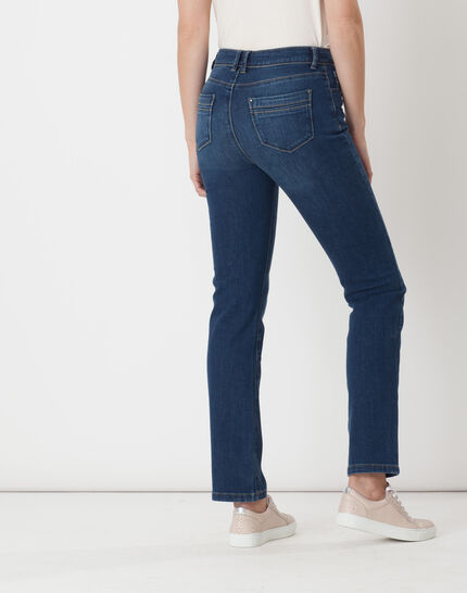 Victor straight stonewashed blue jeans (5) - 1-2-3