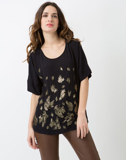 Ecrin navy blue embroidered shirt PhotoZ | 1-2-3