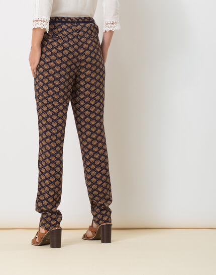 Domy flowing printed trousers (4) - 1-2-3