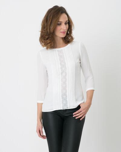 Nuit ecru lace T-shirt (1) - 1-2-3