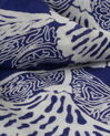 Stacy midnight blue scarf with a floral print (3) - 1-2-3