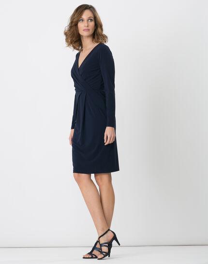 Bermude navy blue dress (3) - 1-2-3