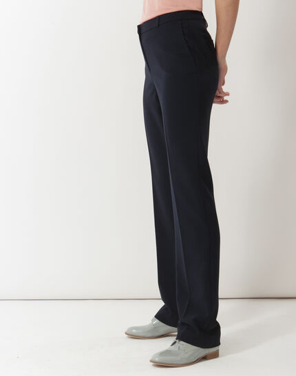 Natura tailored navy blue trousers (5) - 1-2-3