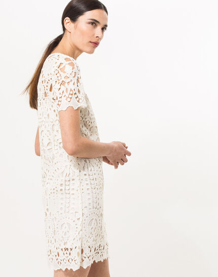 Bergamote cream lace dress PhotoZ | 1-2-3