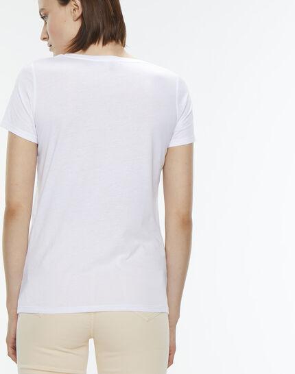 Nori striped white T-shirt (6) - 1-2-3