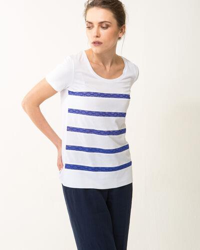 Tee-shirt rayé bleu Nori (1) - 1-2-3