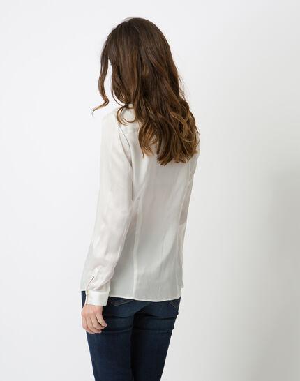 Dany ecru silk shirt (4) - 1-2-3