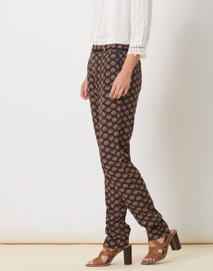 Domy flowing printed trousers (3) - 1-2-3