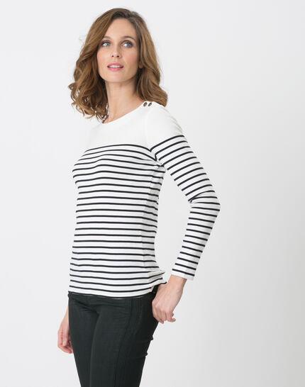 Naval striped navy blue T-shirt (5) - 1-2-3