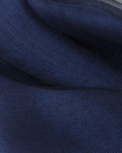 Maeva blue mixed silk stole (2) - 1-2-3
