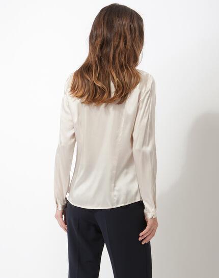 Flo silver-coloured silk blouse (6) - 1-2-3