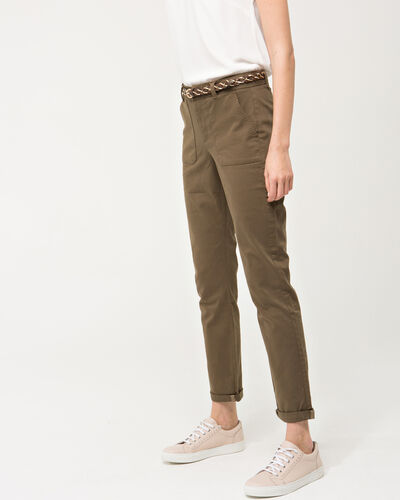 Pantalon 7/8ème kaki Denis (2) - 1-2-3
