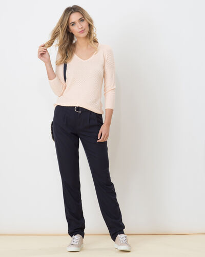 Darcy blue flowing trousers (1) - 1-2-3