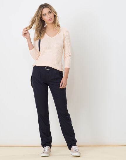 Darcy blue flowing trousers PhotoZ | 1-2-3